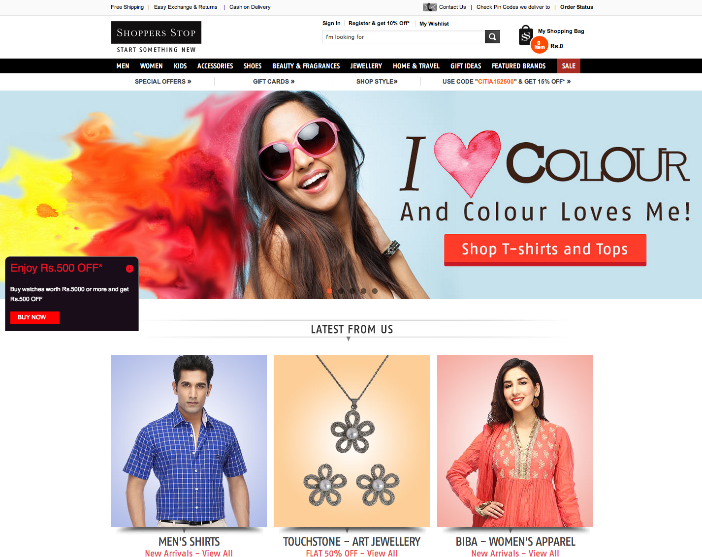 Indian Ecommerce Sites Cash in on Holi