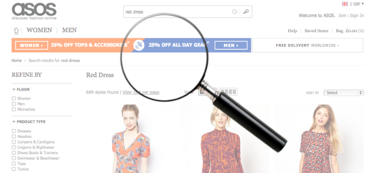 How to Use Ecommerce Site Search Data Effectively