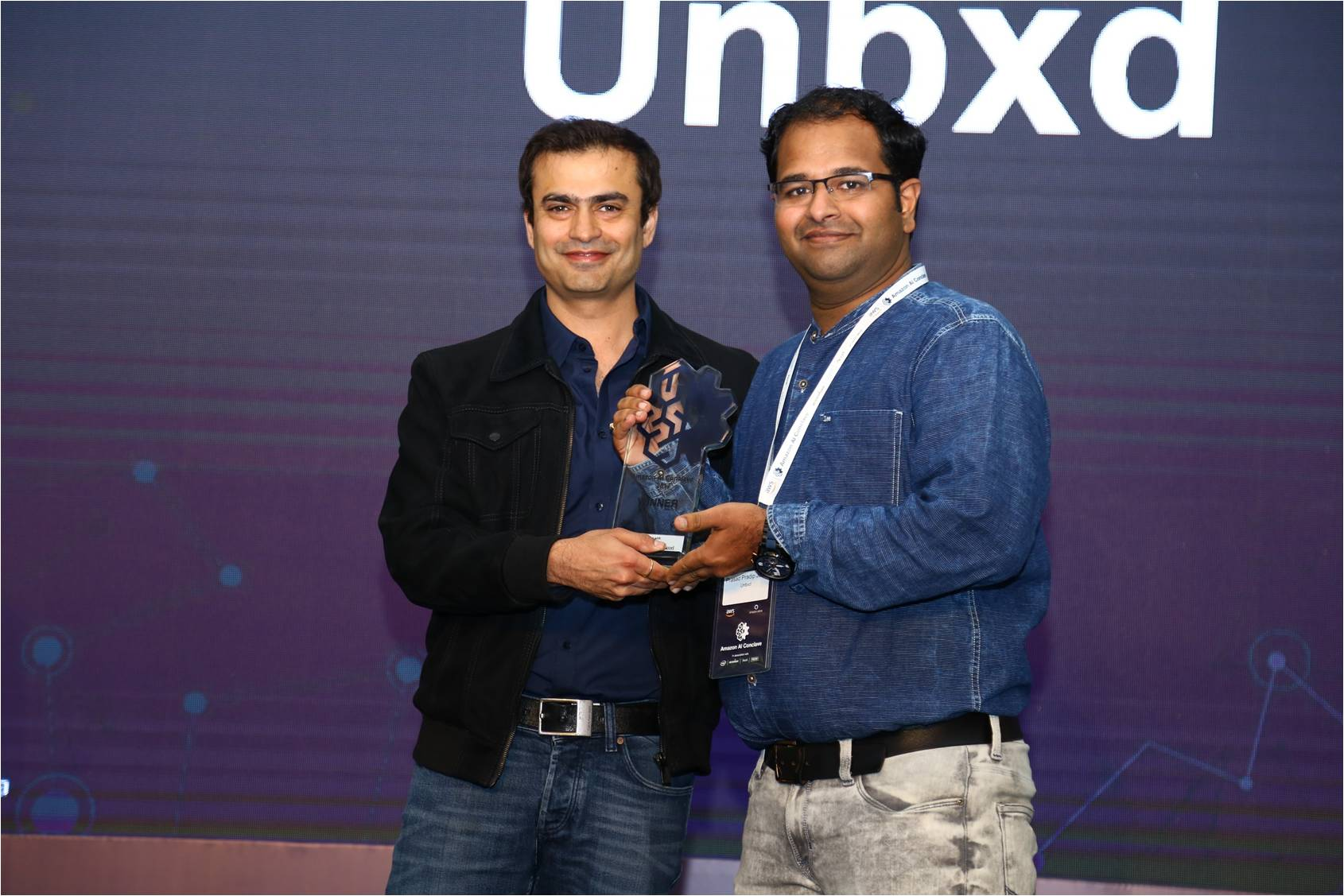 We Won the Retail & Commerce Award at Amazon AI Conclave!
