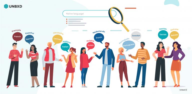 Unbxd launches a multilingual search solution for eCommerce enterprises!