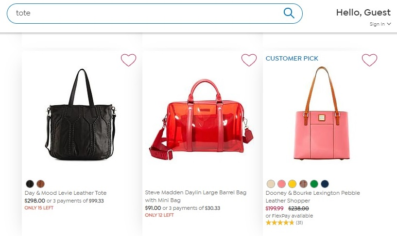 Smart search techniques deployed by retail giant HSN