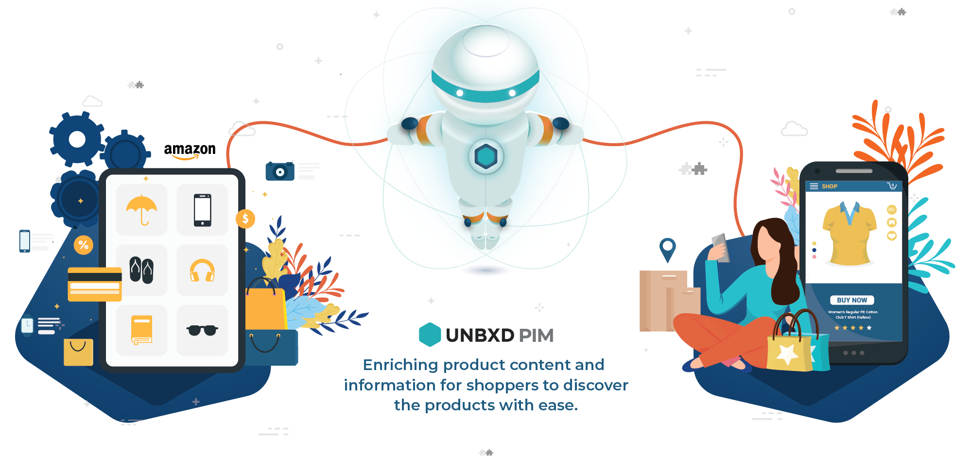 Unbxd PIM solving the challenges for retail sellers on Amazon marketplace